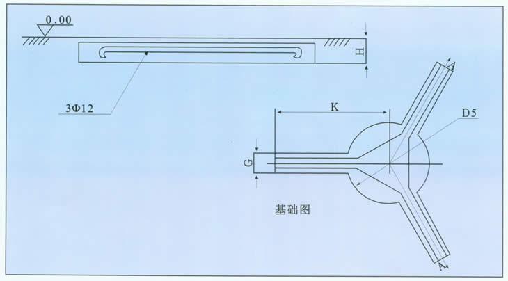 圆形气浮平面布置尺寸图